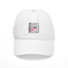 Warrior Breast Cancer Baseball Baseball Cap