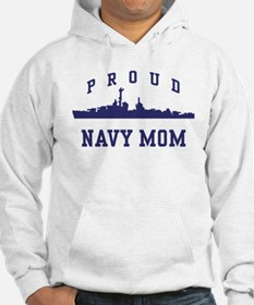 Proud Navy Mom Jumper Hoody