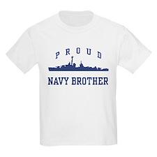 Proud Navy Brother T-Shirt
