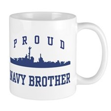 Proud Navy Brother Mug