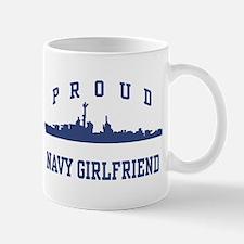 Proud Navy Girlfriend Mug