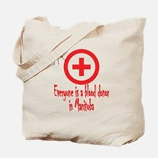 Blood Donor Tote Bag
