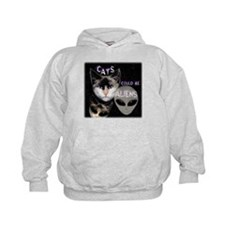 Cats Could Be Aliens Hoodie