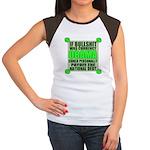If Bullshit was Currency Women's Cap Sleeve T-Shir