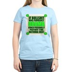 If Bullshit was Currency Women's Light T-Shirt
