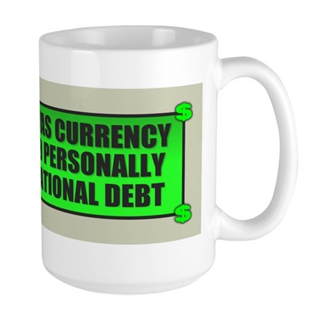 If Bullshit was Currency Large Mug
