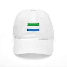 Sierra Leone Flag Baseball Cap