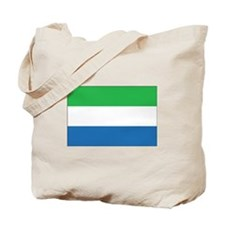 Sierra Leone Flag Tote Bag