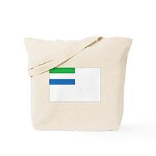 Sierra Leone Naval Ensign Tote Bag