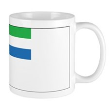 Sierra Leone Naval Ensign Mug