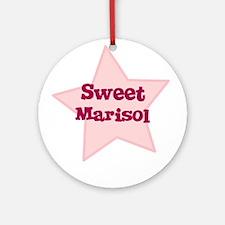 Sweet Marisol Ornament (Round)