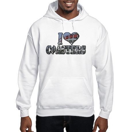 I heart coasters Hooded Sweatshirt