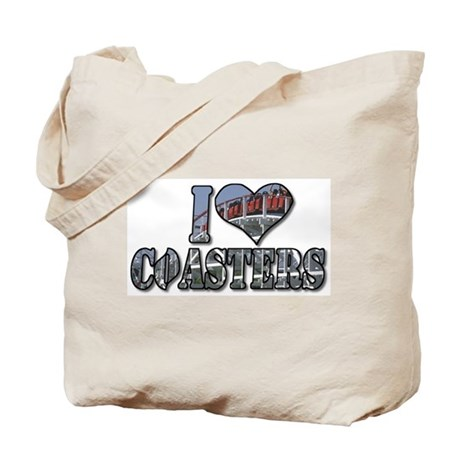 I heart coasters Tote Bag