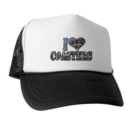 I heart coasters Trucker Hat