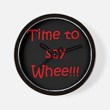 Whee!!! Wall Clock