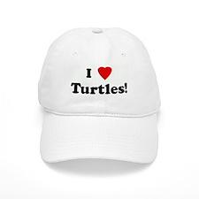 I Love Turtles! Baseball Cap