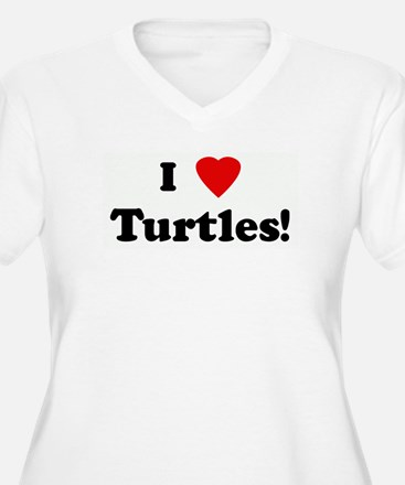 I Love Turtles! T-Shirt