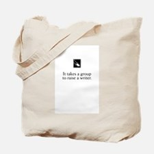 Writing Group Tote Bag with Fountain Pen