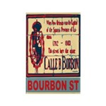 New Orleans Streets Rectangle Magnet (10 pack)