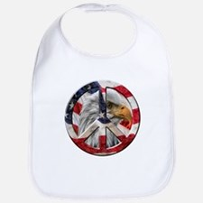 Peace Eagle Bib