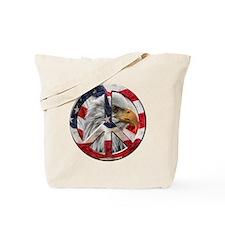 Peace Eagle Tote Bag