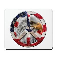 Peace Eagle Mousepad