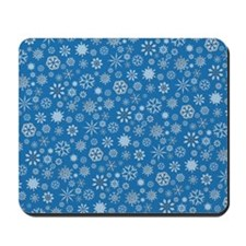 Icy Blue Mousepad
