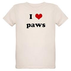 I Love paws T-Shirt