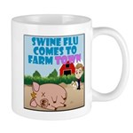 Swine Flu Comes To FarmTown Mug