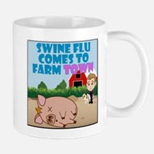 Swine Flu Comes To FarmTown Mug