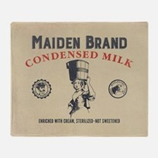 WW Maiden Brand Milk Throw Blanket
