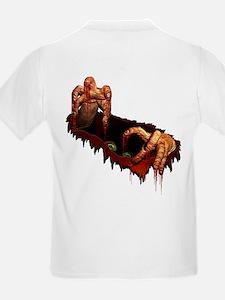 Kid's Zombie T-Shirt Scary Halloween Costume Tee