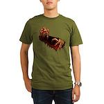 Zombie Organic Men's T-Shirt (dark)