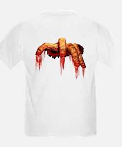 Kid's Zombie T-Shirt Gory Halloween Costume Tee