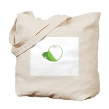 """an apple a day"" Tote Bag"