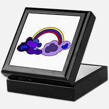 Riyah-Li Designs Retro Rainbow Keepsake Box