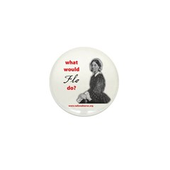 What Would FLO Do? Mini Button (100 pack)
