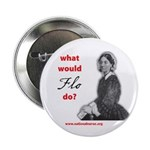 "What Would FLO Do? 2.25"" Button (100 pack)"