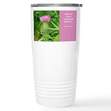 Travel Mug: Flower-Weed