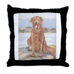 Throw Pillow Golden Retriever