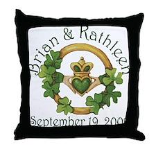 Brian & Kathleen Throw Pillow