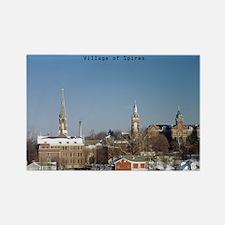 """Oldenburg """"Village of Spires"""" Rectangle"""