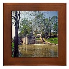 Metamora Indiana Framed Tile