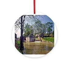 Metamora Indiana Ornament (Round)