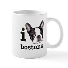 """I Love Bostons"" Mug"