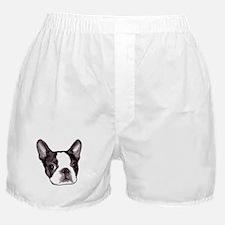 """Boston Terrier"" Boxer Shorts"