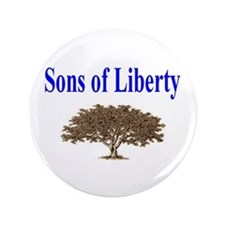 "Sons of Liberty 3.5"" Button"