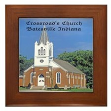 Crossroad's Lutheran Church Framed Tile