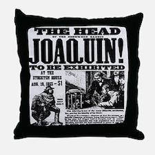 Joaquin Murieta Throw Pillow