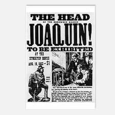 Joaquin Murieta Postcards (Package of 8)